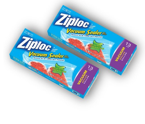 Check Out This Ziploc Vacuum Sealer Bag Refills - Gallon - 13 Bags (Pack of 2)