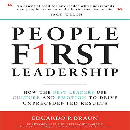 People First Leadership audiobook cover art
