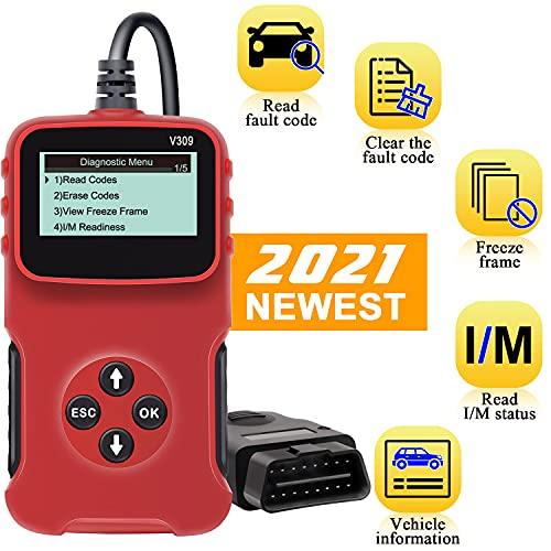 OBD2 Scanner Code Reader Car Engine Fault Code Reader Car Diagnostic...