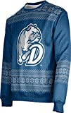 ProSphere Drake University Ugly Holiday Unisex Sweater - Chill D3CD236B Blue and Gray
