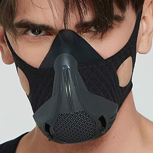 25 Levels Fitness Training Mask High Altitude Simulation Increase Cardio Endurance Sports Breathing Fitness Running Resistance Cardio Endurance Exercise Gym Mask