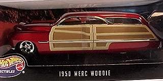 Hot Wheels 1950 Merc Woodie 1:18