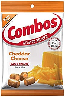 COMBOS Cheddar Cheese Pretzel Baked Snacks 15-Ounce Bag