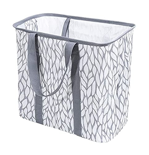 LY-Rack Canasta de Ropa portátil para Ropa de lavandería Canasta de lavandería...
