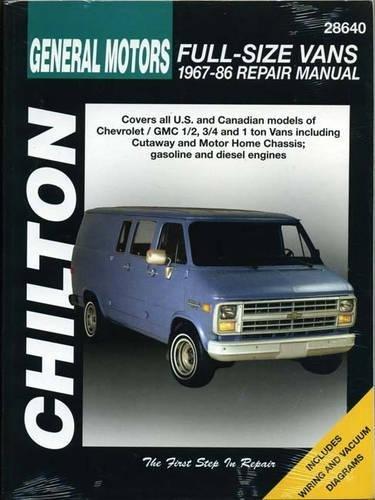 Chevrolet Vans, 1967-86 (Haynes Repair Manuals)