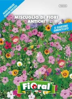 Sementi da fiore di qualità in bustina per uso amatoriale (MISCUGLIO DI FIORI ANTICHI)