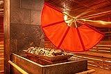 Saunagut® Aufgussfächer Esche Standard, Farbe:Hellbraun