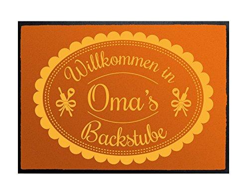 Klebefieber Fußmatte Omas Backstube B x H: 60cm x 40cm