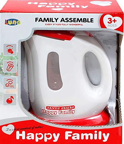 Luna Kinder Wasserkocher Happy Family Küchengerät mit Funktionen +3J