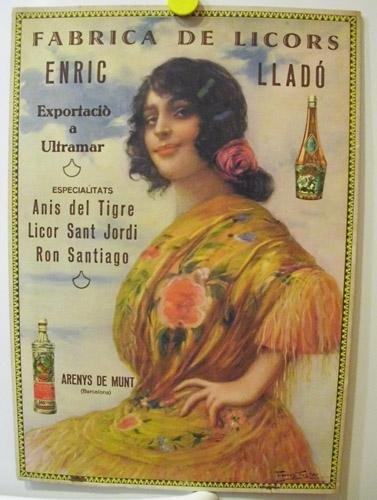 Antiguo Cartel Publicidad - Old Advertising Poster : FABRICA