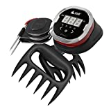 iDevices IGR0009 iGrill2 Bluetooth Thermometer Compatible with IOS or Android with 2 Meat Handler Bear Claw Style Forks