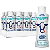 fairlife YUP! 2% Reduced Fat Ultra-Filtered Milk 14 fl oz (Classic White, Pack of 24)