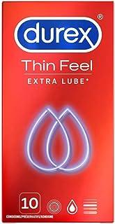 Durex - 10 kondomer känns tunna med extra smörjmedel - 1 bit