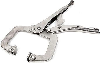 HZWLF Alicate W-Elding de 22,86 cm de comprimento, ajustável, com mola tipo C