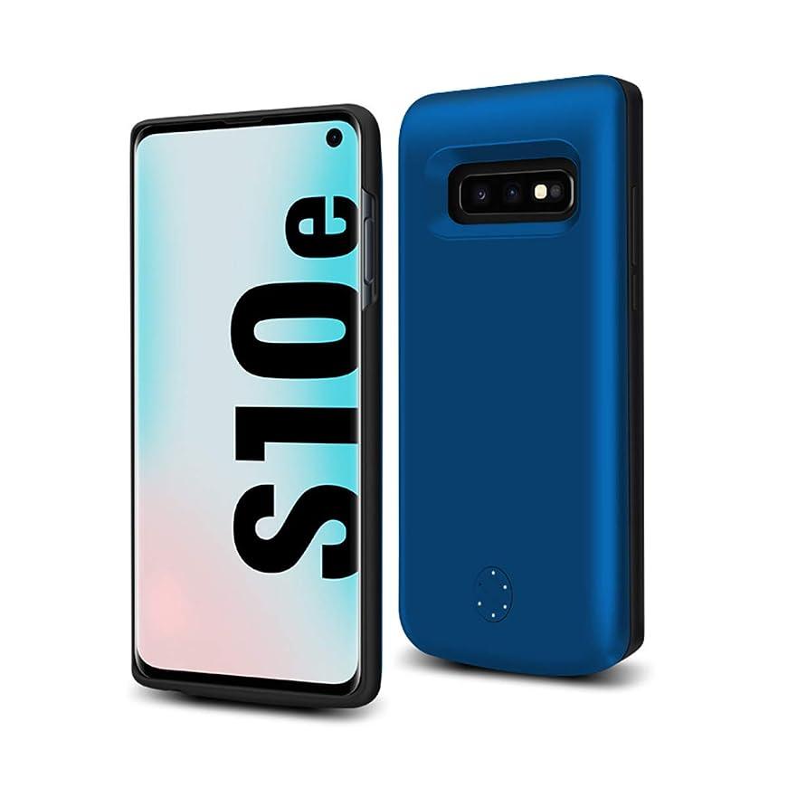 姿勢ディスコ食器棚Phoebe バッテリー ケース 5000mAh 大容量 Samsung Galaxy S10e バッテリー内蔵ケース