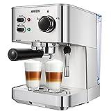 AICOK Espresso Machine, Cappuccino Maker, Latte Coffee Maker, Moka Maker, Espresso Maker with Milk...