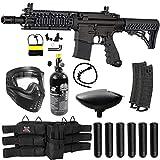 Maddog Tippmann TMC MAGFED Titanium HPA Paintball Gun Marker Starter Kit - Black