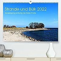 Strande und Buelk 2022 (Premium, hochwertiger DIN A2 Wandkalender 2022, Kunstdruck in Hochglanz): Spaziergang entlang der Kieler Foerde (Monatskalender, 14 Seiten )