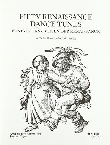 50 Tanzweisen der Renaissance: Alt-Blockflöte.