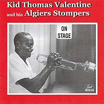Kid Thomas Valentine and His Algiers Stompers on Stage