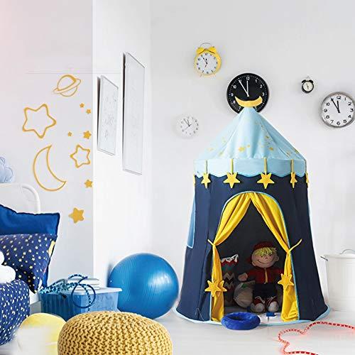 Mogicry Tente pour Enfants Game House Tipi Intérieur Château de Princesse Facile à Porter en Plein Air Bébé Jouet Maison Enfant Yourte Enfants Jouent Tente avec Tapis De Sol pour Enfants 1+