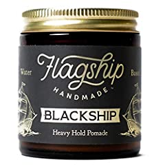 Inspired by history, our pomade is named after the Black Ships which represented the West's encroachment into Japan during the mid 1800's. Featuring a charcoal coloring sourced from all-natural, black oxide (a cosmetic coloring agent), it provides a ...