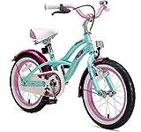 BIKESTAR Premium Sicherheits Kinderfahrrad 16 Zoll für Mädchen ab 4-5