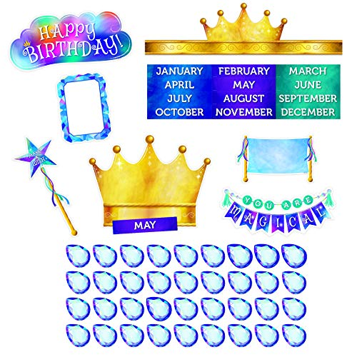 Creative Teaching Press Mystical Magical Happy Birthday Mini Bulletin Board, CTP 8603