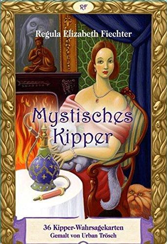 Mystisches Kipper: Set mit 36 Kipper- Wahrsagekarten und Buch