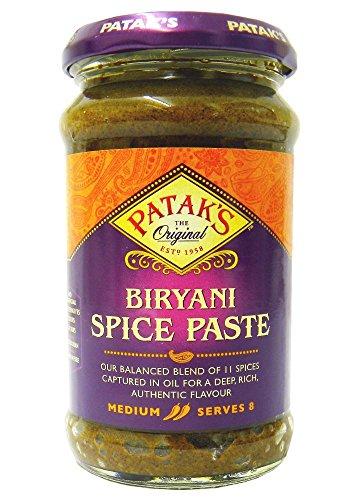 Patak's Biryani Paste - Mittelscharfe Paste zum Kochen - 2 x 283 g