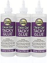 Aleene's Clear Gel Tacky Glue 3 Pack, 8 oz