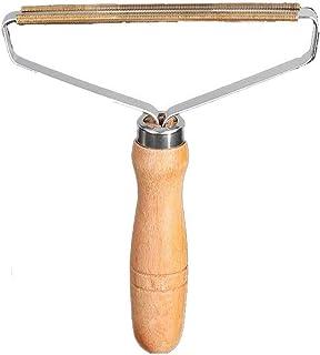 Guizu Portátil Removedor de Pelusa Lint Remover Afeitadora para Ropa Tela Quitapelusas, removedor portátil de Madera para Pelusa para Restaurar el suéter y Las Telas removedor