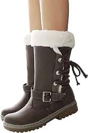 fc2fe9d047d Botas de Nieve de Las Mujeres, Clásicos Botas de Nieve de Las Mujeres