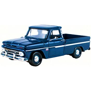 1966 Chevy C10 Fleetside Pickup 1//24 Dark Blue Chevrolet SG/_B007A313RE/_US