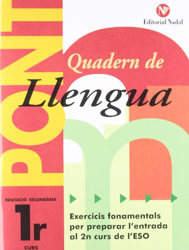 Quadern Pont Llengua 1ºeso CataluÑa