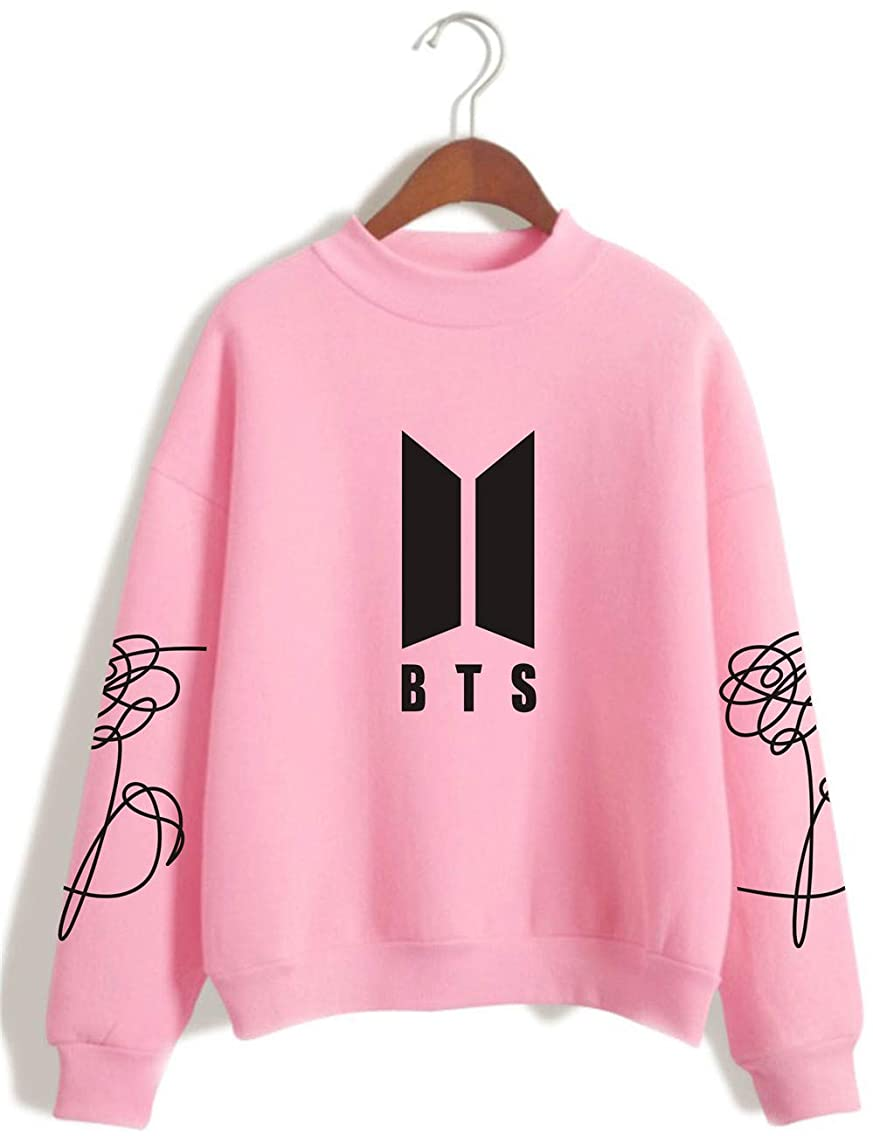 SERAPHY BTS Hoodie Unisex Bangtan Boys Sweatshirts Love Yourself BTS Jumper Pullover for Army