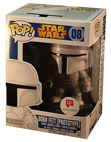 Funko Star Wars ¡ Pop! Boba Fett (Prototipo) Figura De Vinilo Walgreens Exclusivo