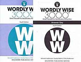 Wordly Wise 3000 Fourth Edition Student Edition + Answer Key Set Grade 9