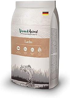 Venandi Animal Premium Trockenfutter für Katzen, Lachs, getreidefrei mit viel frischem Lachs, 1.5 kg