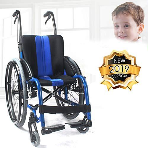 Kinderrollstuhl, Leicht Und Klapprahmen, Flugbegleiter Kinderwagen, Tragbarer Transport Stuhl, Abnehmbare Fußpedal, Standard.