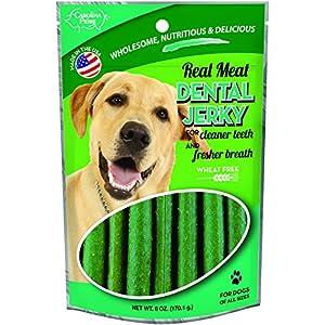 Carolina Prime Pet 40141 Dental Jerky Treat For Dogs ( 1 Pouch), One Size