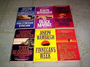Joseph Wambaugh - (Set of 6) - Not a Boxed Set (The black Marble - Holiwood Station - The Golden Orange - Finnegan's Week - The Blooding - The Secrets of Harry Bright)
