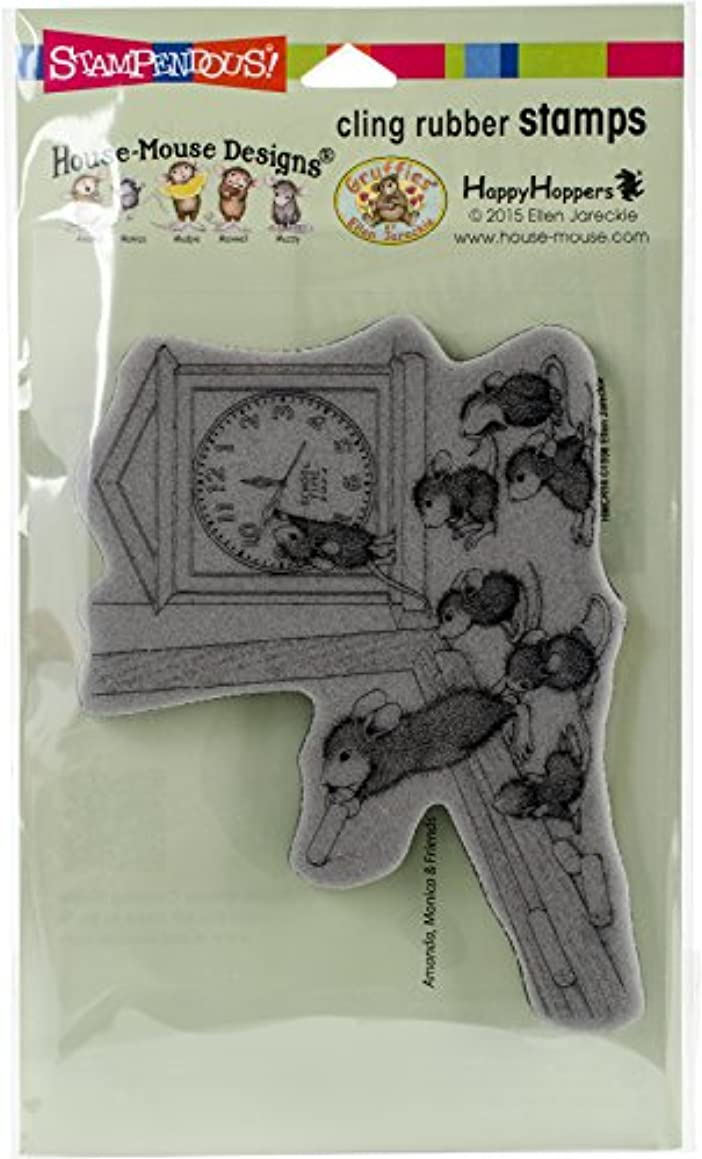Stampendous House Mouse Cling  Stamp, Teacher Time