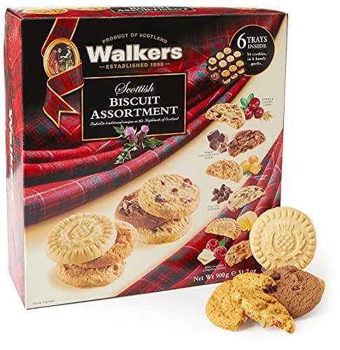 Walkers Tutti Burro Biscotto al burro-scozzese, Scozzese Biscotto Assortimento 900g