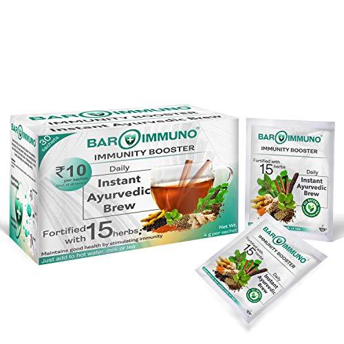 BAROIMMUNO Ayurvedic Kaadha for cold cough immunity - 4gms sachet (Pack of 30)