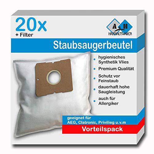 20 Staubsaugerbeutel geeignet für CleanMaxx Z 03334,Typ KPA11E-2