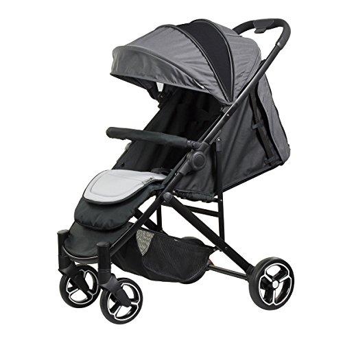 Safety 1st Willow Compact Newborn 4 Wheel Stroller, Blue
