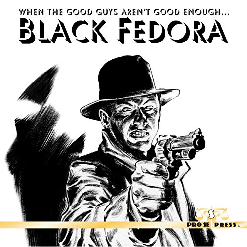 Black Fedora audiobook cover art