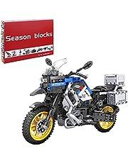 Bulokeliner Techniek motorfiets voor BMW R1250 GS HP, mechanische racewagen model, 948-delige racemotormodel, supermotorfietsspeelgoed, compatibel met Lego