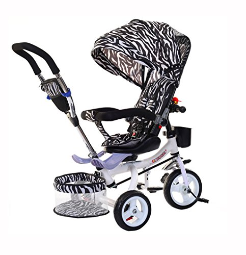 Best Buy! Kids' Tricycles Kids Tricycle Folding Bike Baby Baby Titanium Empty Wheel/Inflatable Wheel...